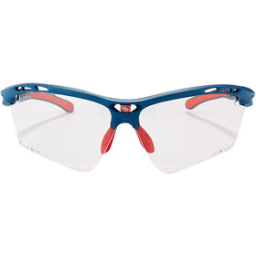 Rudy Project Propulse Okulary, pacific blue matte/impactX 2 photochromic red